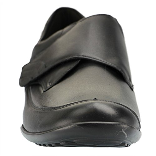 sintético de negro Mocasines Waldläufer material para mujer schwarz K negro Weite negro RqtF51