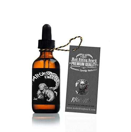 Mad Viking Beard Co. - Premium Beard Oil All-Natural Oils For Beard Health and Style - 2oz - Beard Face Style