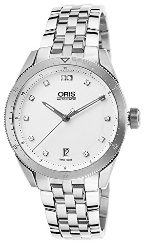 Oris Artix GT Date Automatic Stainless Steel Mens Watch White Dial Calendar 733-7671-4191-MB (Oris Tt1 Day Date Automatic 7517 41)