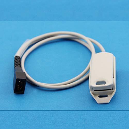 All Nonin 7pins SpO2 Sensor Probe 7PIN 3 Meters 7P 3M Cable Oximax Wire for Monitor Nonin 8500 8600 8700 8800 2500 9840 3012 Avant 2120 4000 9600 9700 7500 7500FO Adult Finger Clip