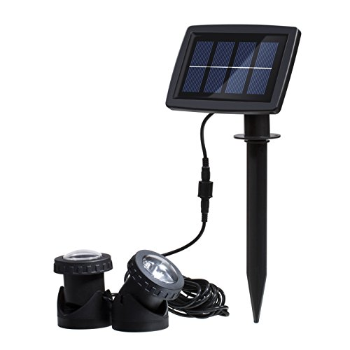 Solar Color Change LED Underwater Light Three Lamps Water La