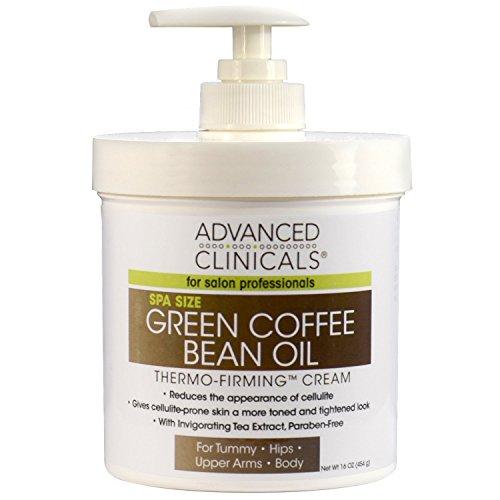 Crema Cafe (Crema De El Cafe Verde Para Eliminar La Celulitis - Crema Adelgazante Anticelulitis - Hidrata La Piel - Tratamiento 16 Onzas)