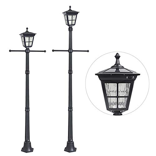 Outdoor Yard Lamp Post in US - 8