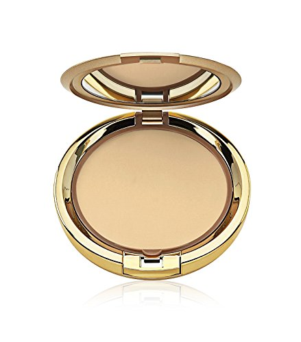 Milani Even Touch Powder Foundation - Fresco (0.42 Ounce) Vegan, Cruelty-Free Pressed Powder Foundation with Medium-to-Full Coverage to Conceal Imperfections
