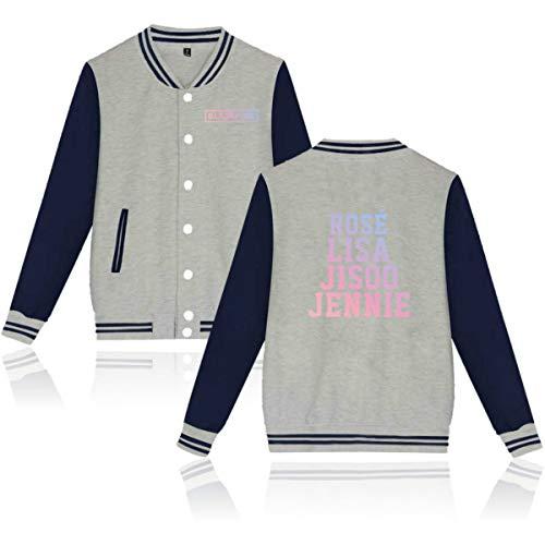Baseball Blackpink Unisexe Kpop Rose JISOO Jacket DJS Jennie Imprim Lisa 4wFxBqtw5