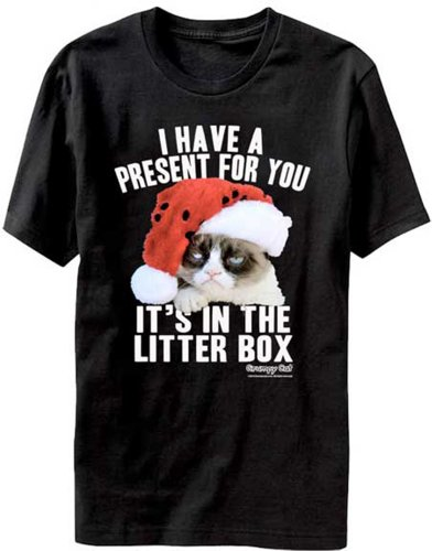 Litter Box Present T-Shirt