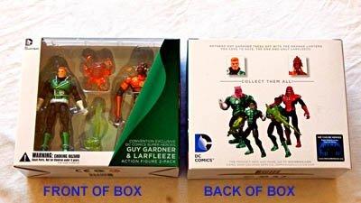 Green Lantern Guy Gardner & Larfleeze 3.75 Inch Action Figure 2-Pack - DC Comics 2013 - Rare Convention Exclusive