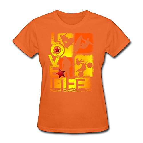 co-womens-love-life-extreme-sports-t-shirt-orange