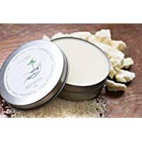 Handmade Natural Vegan Coconut Ivory Shea Body Butter, 3.5 oz