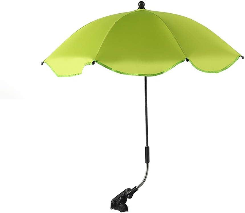 YQY BabyPram Regenschirm 66cm Durchmesser Baby Universal-Sonnenschirm-Regenschirm Kleinkinder Buggies Kinderwagen Sun-Abdeckungen f/ür Kinderwagen carrycot,Light Blue Kinderwagen