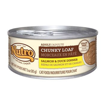 Nutro Natural Choice Adult Chunky Loaf Salmon & Duck Dinner - 24x3oz