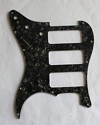 Para Fender Stratocaster Strat P90 3 Pickup estilo guitarra ...