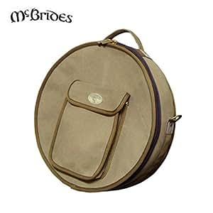 mcbrides deluxe 18 bodhran irish drum cover case bag musical instruments. Black Bedroom Furniture Sets. Home Design Ideas