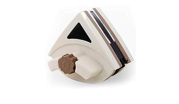 Escobilla limpiacristales Doble cara magnética del limpiador de cristal de ventana Imanes cepillo limpiador de la limpieza de superficies cepillo de limpieza herramientas se ajustan 3-24mm de cristal: Amazon.es: Hogar