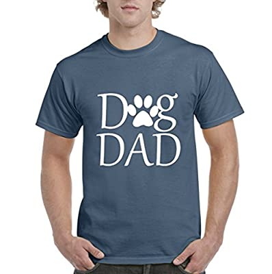 Acacia Dog Dad - Paw Shelter Rescue Animal Mens T-shirt Tee