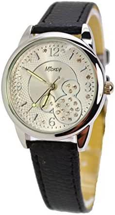 Disney Watch With Crystals Mickey Mouse. A5-2513. Analog Large Display.