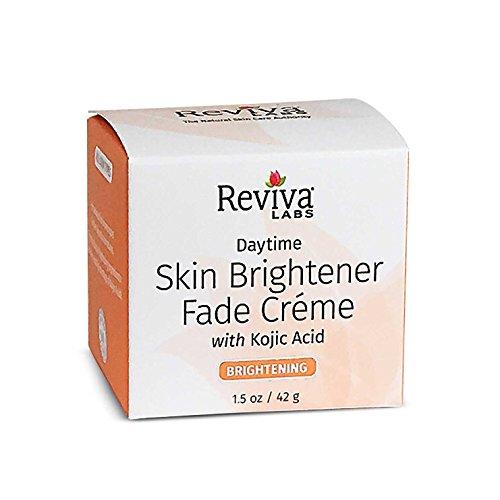 - Reviva Labs Skin Lightener Day Cream with Kojic Acid, 1.5 Ounce