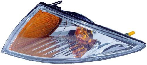 For 2000 2001 2002 Chevrolet Chevy Cavalier Turn Signal Corner Light lamp Assembly Driver Left Side Replacement Capa Certified GM2520179 Chevrolet Cavalier Turn Signal Lamp