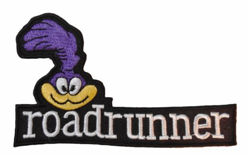 Road Runner Costume Looney Tunes (Looney Tunes ROADRUNNER Face with Name 4 1/4