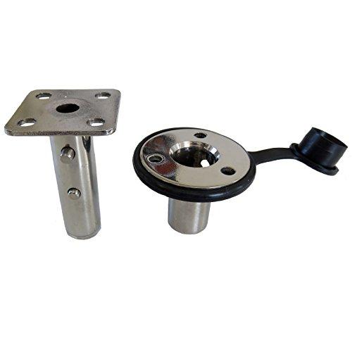 Magma Products, T10-326 Single Locking Flush Deck Socket (Flush Deck Socket Mount)