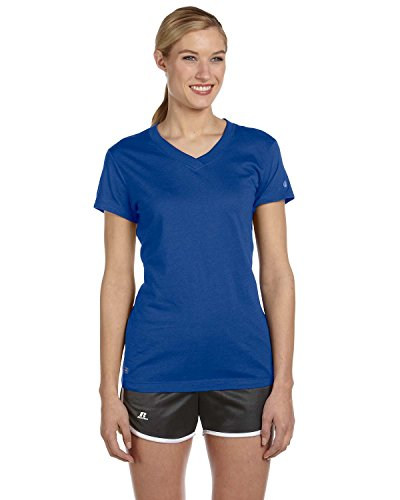 Russell Athletic Womens Dri Power V Neck