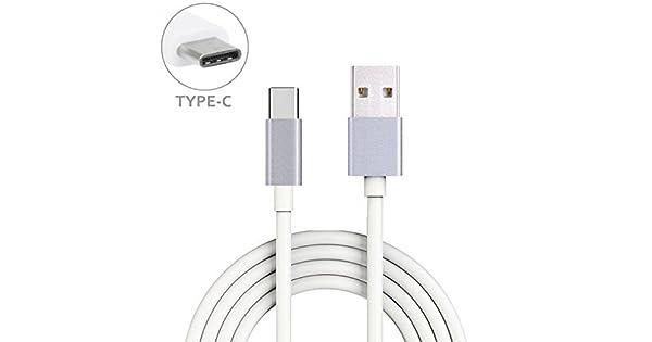 Amazon.com: LG G6 COMPATIBLES Color Blanco 10 ft Cable Largo ...