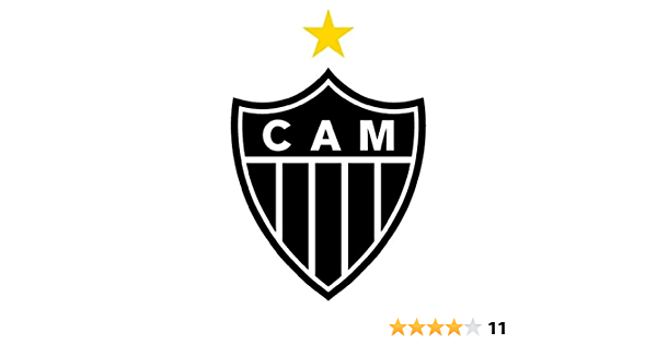 Clube Atletico Mineiro Brazil Soccer Football - Sticker Graphic - Auto Wall Laptop Cell Truck Sticker - Easy Stick Sticker Graphic
