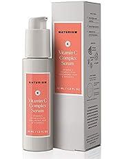 Vitamin C Complex Face Serum - 1 oz, Facial Serum with 22% Vitamin C Complex Plus Hyaluronic Acid & Vitamin E