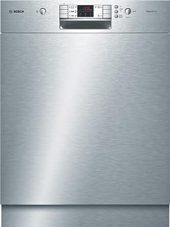 le dernier 11c10 9c47b Bosch SMU50M75EU Unterbau-Geschirrspüler / AAA / 12 L / 1.02 kWh / 59.8 cm  / Edelstahl / AquaStop / AquaSensor