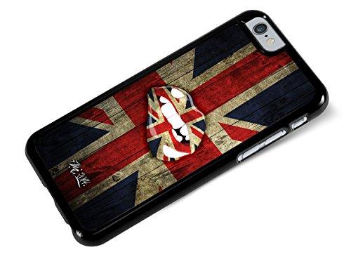 Master Case - Coque iPhone 6-6S- rigide-drapeau-anglais- Lips UK