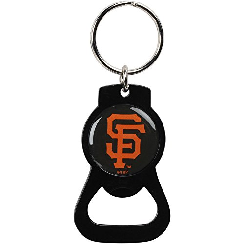 aminco San Francisco Giants Bottle Opener Keychain Black