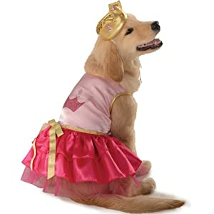 Rubie's Pet Costume, X-Large, Pink Princess
