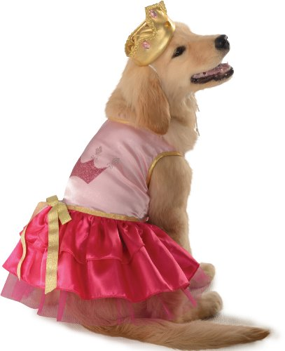 Rubie's Pet Costume, Medium, Pink Princess (Maltese Halloween Costumes)