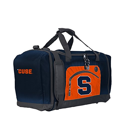 Officially Licensed NCAA Syracuse Orange Roadblock Duffel (Syracuse Blocks)