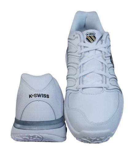 K Swiss Approach II Omni Womens Leather Tennis sneakers / Shoes - White - SIZE US 6