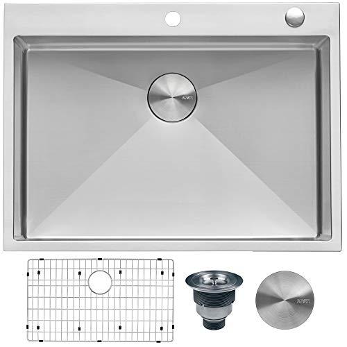 Ruvati RVH8009 Stainless Steel Drop-In Sink