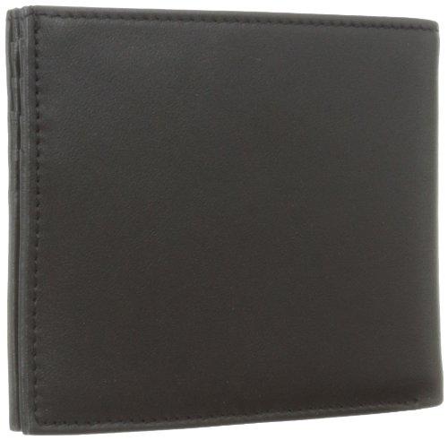 Victorinox Men's Altius 3.0 Barcelona Leather Bi-Fold Wallet, Black, One Size