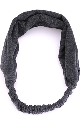 Generic Korean sweat hair and women running sports headband headband non-slip yoga accessories dance scarf broad-brimmed Korea by Generic (Image #1)