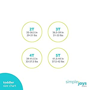 Simple Joys by Carter's Toddler Girls' 3-Pack Short-Sleeve Graphic Tees