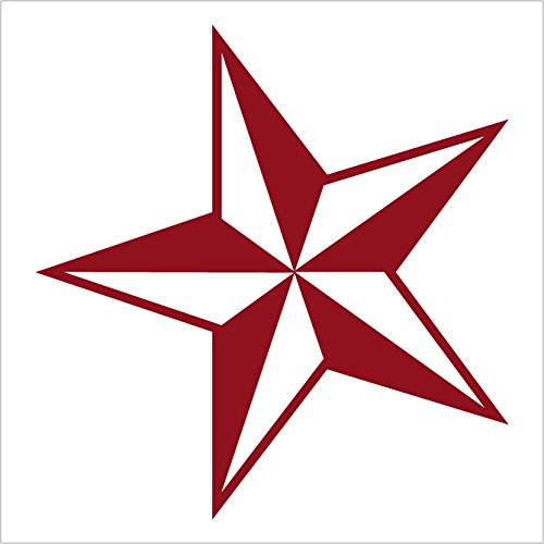 (NS-FX Nautical Star - Car, Truck, Notebook, Vinyl Decal Sticker #1112 (5.5