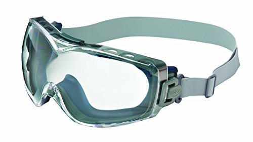 Uvex Stealth OTG Safety Goggles with Anti-Fog/Anti-Scratch Coating (S3970D) (Renewed)