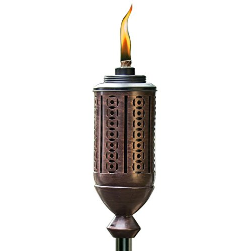 (TIKI Brand 65-Inch Cabos Metal Torch, Copper)