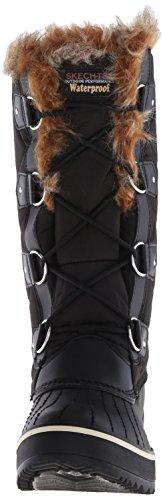 Skechers montañeses de altura edredón Bota de la nieve Black