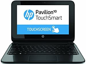 HP Pavilion TouchSmart 10-e010nr F3F15UA 10.1 LED Notebook AMD A4-1200 1GHz 2 GB DDR3L 320GB HDD AMD Radeon HD 8180 Windows 8