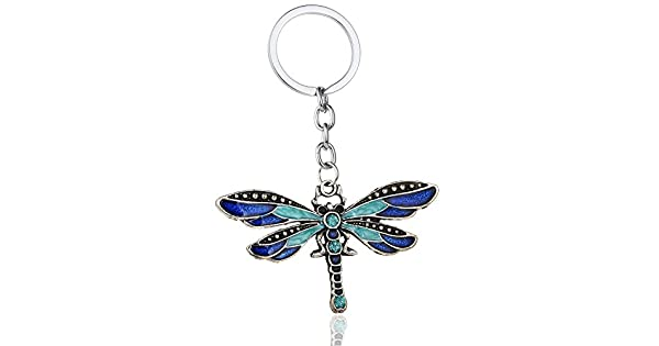 Amazon.com: Urberry lindo libélula llavero para bolso de ...