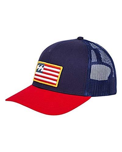 Merica Trucker Hat (Billabong Men's Merica Trucker Hat Blue One)