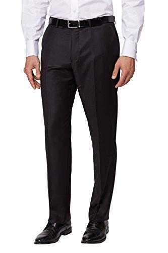 Top Ermenegildo Zegna Cloth Men's Regular Fit Black Suit Pants supplier