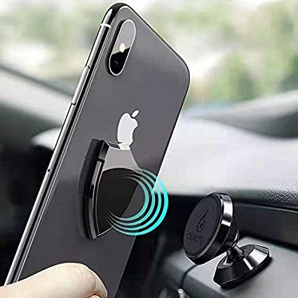 Shield Cell Phone Ring Holder,360 Degree Rotation Phone Ring Kickstand,Universal Cell Phone Ring Grip Stand for Almost All Phones//Pad lenoup 4351527573 Black