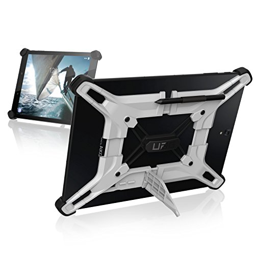 UAG Exoskeleton 10-Inch Universal Fit Android Tablet Feather-Light Rugged [White] Military Drop Tested Case (Tablet Android 10 Pulgadas Acer)