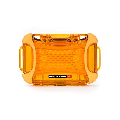 Orange Hard Camera Bag - Nanuk 320-0003 Nano Series Waterproof Medium Hard Case for Phones, Cameras and Electronics(Orange)